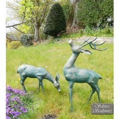 view the large deer antique bronze statues metal garden ornaments or see our full range of exquisite unique to statues u0026 sculptures online