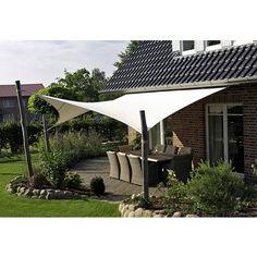 Sonnensegel »3D« 648 x 466 cm in beige für 299,99€. modernes Sonnensegel in 3D-Form, Polyacryl 280g/m², Wasserdicht durch PU-Beschichtung bei OTTO