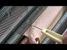 Come fare il punto pavone su macchine brother con il carrello del traforato L