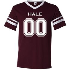 Teen Wolf Beacon Hills Lacrosse Hale 00 Unisex Jersey ($20) ❤ liked on Polyvore featuring tops, teen wolf, grey, women's clothing, zipper top, grey top, gray top, jersey tops and jersey knit tops
