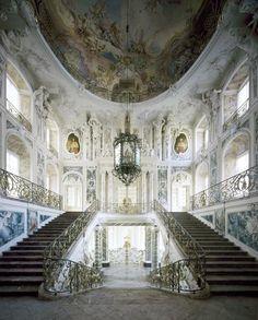 Augustusburg and Falkenlust Palaces, Brühl    Entrance is an experience.