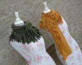 Organic cotton and soy scarves . Ecofashion Ecofriendly Ecofabulous by hempcouture on Etsy