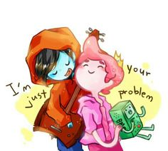 Marshall Lee + Prince Bubble Gum = Marball/ who the heck tried to make up that ship name? MARSHALL LEE + PRINCE GUMBALL = GUMLEE T^T christ