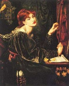 The Art of Dante Gabriel Rossetti - Apparently, he had a thing for redheads. Wise man.