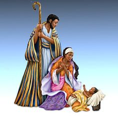 Keith Mallett - Lord's Blessings Nativity Collection