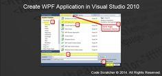 Create WPF Application in Visual Studio 2010
