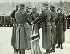 Norsk SS legion - the Germans recruited all over Europe