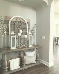 Cute Rustic Farmhouse Home Decoration Ideas 39