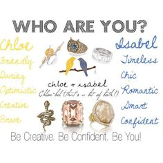Chloe and Isabel is inspired by friends of different style. Which are you? Or are you a Chlo-bel like ME!  Get a coupon for $25 off today-message me  https://www.chloeandisabel.com/boutique/dmerkle