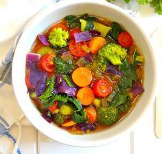 Cette soupe réconfortante vous aidera à libérer les toxines et renforcer votre système immunitaire!
