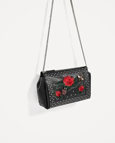7a31fcc009 ZARA - WOMAN - EMBROIDERED CLUTCH New Look Fashion