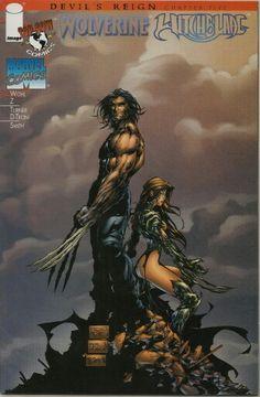 Wolverine Witchblade Devil's Reign Chapter five Marvel Image Top cow Comics Wolverine Comics, Marvel Comics, Marvel Vs, Comic Book Covers, Comic Books Art, Book Art, Marvel Images, Michael Turner, Dark Hunter