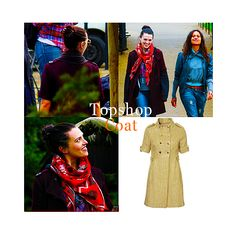 Katie McGrath - Topshop coat