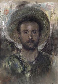 Antonio Mancini - Autoritratto 1883