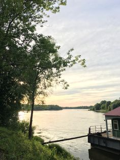 Summer evening on the river Oka, Ryazan