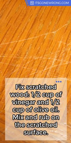 trendy Ideas for wood diy projects households floor cleaners Household Cleaning Tips, Diy Cleaning Products, Cleaning Solutions, Cleaning Hacks, Cleaning Recipes, Cleaning Wood Furniture, Cleaning Wood Floors, Kid Furniture, Furniture Design