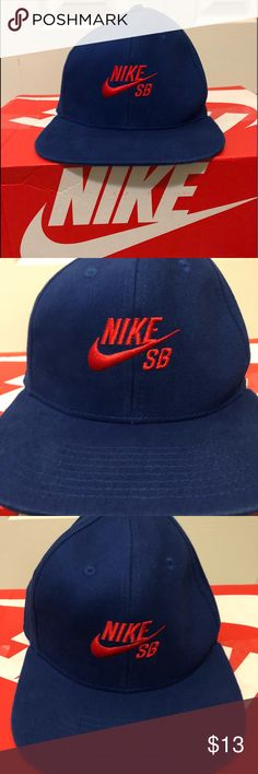 b32e2c25f9e Shop Kids  Nike SB Blue Red size OSB Hats at a discounted price at  Poshmark. Royal blue and red colorway.