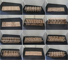Popsicle Stick bridges: a great learning activity for older and younger kids. I have seen some teachers use marshmallows as connectors, while others used a hot glue gun or liquid glue for adhering the sticks to each other. A fun engineering inspired project.
