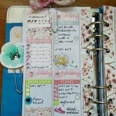 New weekly kit for personal size planners!