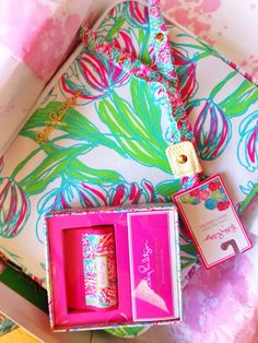 thediaryofanewenglandgirl:  Lilly birthday presents are always the best presents
