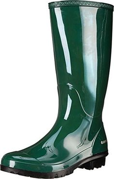 HiTec Womens Paddington Rain Boot Green 8 M US * Check out the image by visiting the link.
