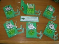 Leprechaun Tic Tac holders.