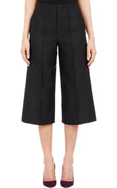 Bonded Satin Twill Trousers
