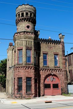 The old Racine Fire Station #1 — Now owned by SC Johnson.