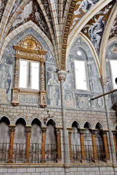 Catedral de Santa María de la Huerta, en Tarazona (Zaragoza, Spain).