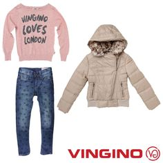 Vingino loves London, nice outfit for cool Girls