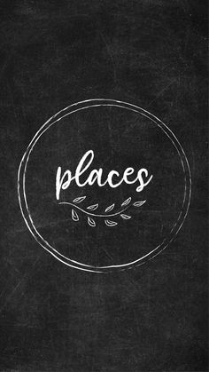 Free Chalkboard Instagram Highlight Covers - Places