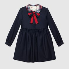 Children's wool cashmere Web dress