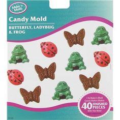 Make n Mold Butterfly, Ladybug & Frog Candy Mold | Shop Hobby Lobby