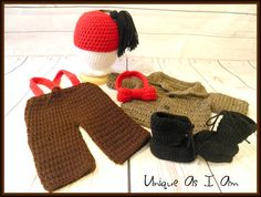 Crochet 11th Doctor Who Matt Smith Inspired Baby by UniqueAsIAm