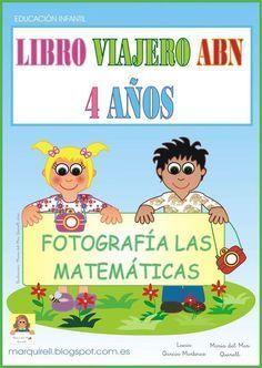 """Ya es más que conocido el LIBRO VIAJERO ABN para 5 AÑOS que hicimos en mi Colegio E. I. """"El Faro"""" de Algeciras, donde mis niños/as a par..."""