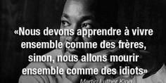 Citation » Martin Luther King                                                                                                                                                     Plus