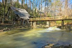 "12. The ""Old Mill"" on Shades Creek in Mountain Brook, Alabama"