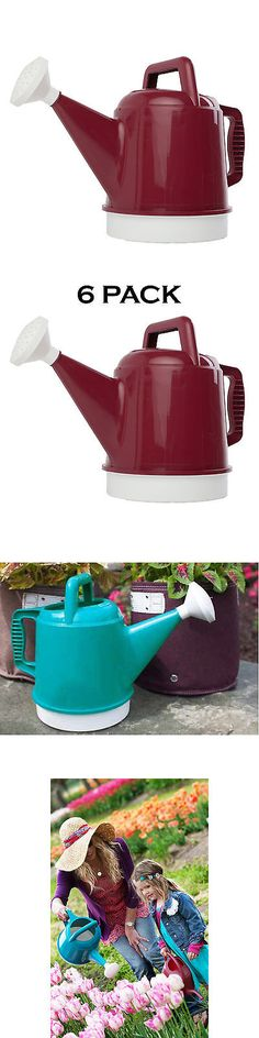 Watering Cans 20547: Bloem Deluxe 2.5 Gallon Union Red Watering Can (Pack Of 6) -> BUY IT NOW ONLY: $111.49 on eBay!