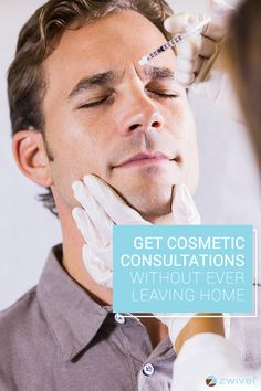 More men are considering cosmetic surgery like facelifts and liposuction. Still, there's a stigma surrounding it and many are too uncomfortable to make that first appointment. Zwivel has the solution. This free, online consultation tool connects you asynchronously with cosmetic doctors from the privacy of your home. Get your questions answered and see if a cosmetic procedure is right for you without before stepping foot in an actual office.