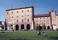 Palazzo dela Pilotta - Farnese, an Italian family that ruled the duchy of Parma and Piacenza from 1545 to 1731. Originating in upper Lazio, the family soon became noted through its statesmen and its soldiers,...