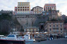 Port de Sorrento, Italie.