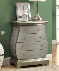 Brushed Gold Bombay Chest