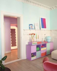 Pastel Bedroom, Pastel Home Decor, Pastel House, Pretty Room, Dressing, Aesthetic Room Decor, My New Room, House Rooms, Room Inspiration