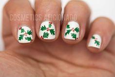 christmas nail art for short nails