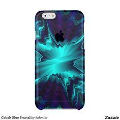 Cobalt Blue Fractal