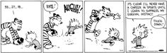 Image result for calvin and hobbes mom chasing calvin