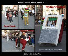Carnaval Adultos 2012 de Arenas de San Pedro. Desfile Individual.