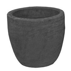 Northcote Pottery 22cm Charcoal caféSTYLE Terracotta Egg Pot $15.98 - Bunnings