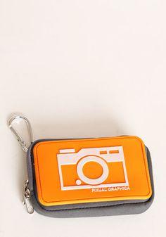 Camera Ready Case in Orange  $22