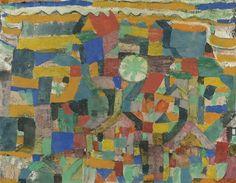 Paul Klee - Friendly Place - 1919